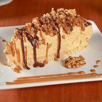Cheesecake de manjar y nueces
