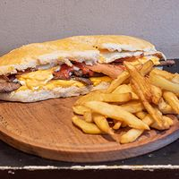 Sándwich stacker BBQ