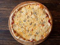 Pizza individual quatro formaggi