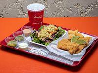 Combo individual - Fish & salad