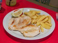 Pechuga de pollo grillada