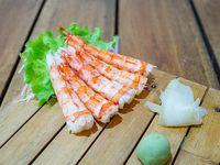 Sashimi de langostino ecuatoriano (5 unidades)