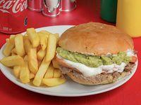 Promo - Sándwich italiano + papas fritas + bebida 350 ml