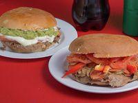 Combo sándwiches - 2 Sándwiches a elección + bebida 1.5 L
