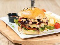 Silverjack burger
