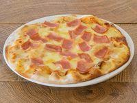 Pizza Mediana Jamón y Queso