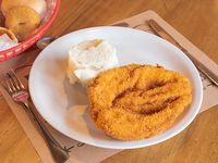 Pollo frito o a la plancha con agregado