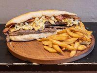 Sándwich rocke bacon