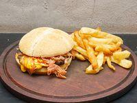 Hamburguesa doble bacon
