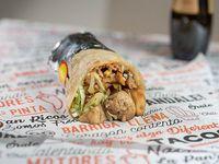 Burrito de champiñón (vegetariano)