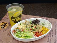 Bowl de quinoa (vegetariano)