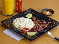 Chorizo Arepa Queso