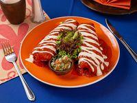 Enchiladas suizas (2 unidades)