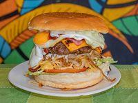Hamburguesa Masacreburger