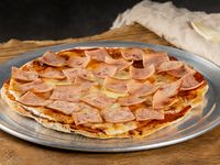 Pizza Jamón y Queso 12 Porciones
