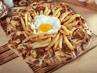 Pizza reina chilena