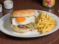 Promoción - Sándwich Alexis + Papas fritas + Bebida en lata 350 ml