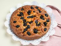 Torta de frutas secas
