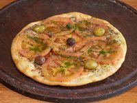Pizza napolitana (4 porciones)