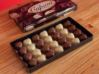 Caja con bombones de dulce de leche x 250 grs