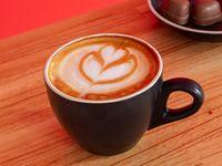 Promo café con alfajor (blanco o negro)
