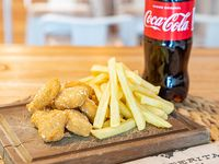 Combo - Pechuguín de pollo crispy  + Bebida a elección