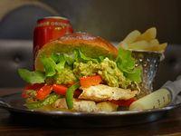 Promo - Slim shady + fries+ refresco lata 355 ml
