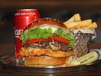 Promo - Veg bunny + fries + refresco lata 355 ml