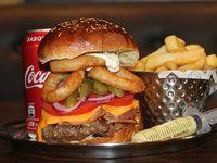 Promo - Wild west + fries+ refresco lata 355 ml