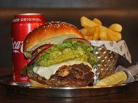 Promo - California love + fries+ refresco lata 355 ml