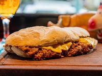 Pulled pork sándwich