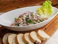 Ceviche de palta y salmón