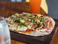Pizza fugazzeta 8 por