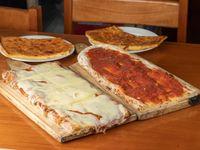 Promo 1. Pizza, muzza y faina