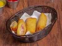 Arrollado de jamón y queso (3 unidades)