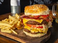 Burger Doble Bacon