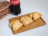 Promo - 6 empanadas + Coca-Cola 1.5 L