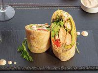 Burrito de salmón