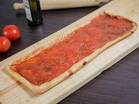 Medio metro de pizza marinara