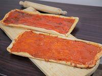 1 metro pizza común