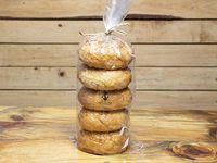 Paquete de Bagels (5 Unidades)