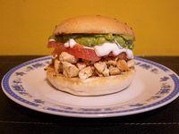 Sándwich de pollo Gran italiano