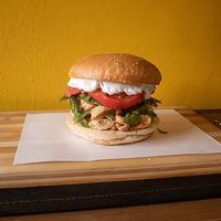 Sándwich de pollo Gran chacarero