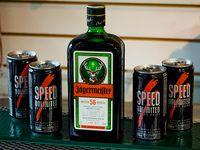 Jaggermeister 700 ml + 4 latas de Speed chicas