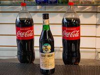 1 fernet de 750 ml + 2 Coca Colas de 2.25 L