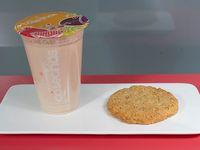 Combo empieza tu día - Guanabana, plátano y avena + galleta, muffin o barra de cereales