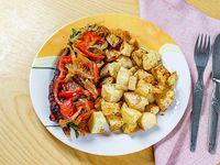 Carne al horno con papas