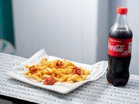 Promo - Salchipapas + Coca Cola 600 ml
