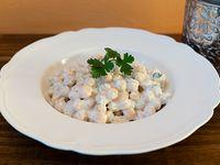 Garbanzos con mayo vegana de albahaca 250 g