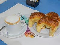 Promo - Café con leche + 3 medialunas o 3 facturas